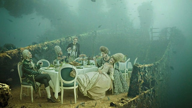 Concept Art Writing Prompt: A Baroque Dinner Party Aboard an Underwater Shipwreck