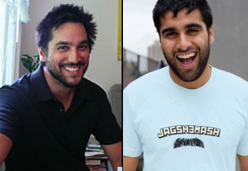 Neel Shah Bros Down with Fired Glamour Dudeblogger
