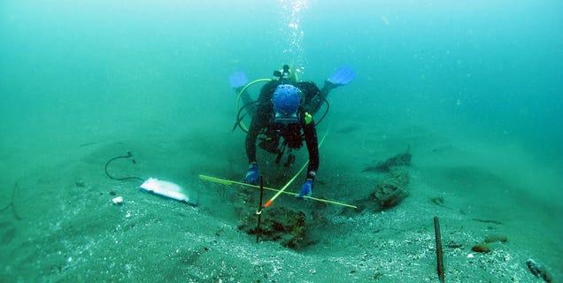 Hallan un navío español hundido en 1681 con carga completa