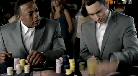 Eminem's New Video Mocks Women, Lesbians, Bret Michaels, Himself