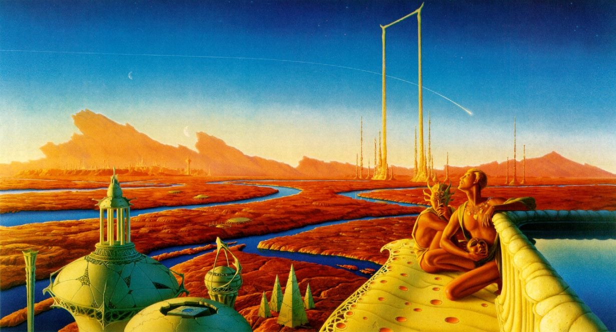 ​​H.G. Wells' Remarkable Scientific Article About Evolution On Mars