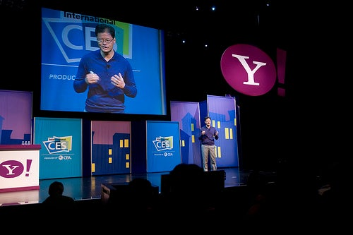 Jerry Yang explains Internet to Best Buy employees
