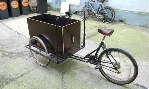 Convert a Regular Bicycle into a Cargo Bike for Gas-Free Grocery Hauling