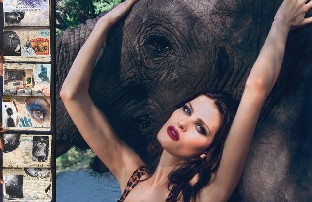 2009 Pirelli Calendar: Elephants And A Whole Load Of NSFW
