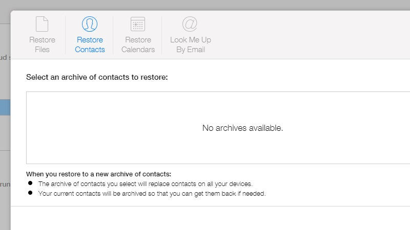 How To Bring Back Deleted Contacts, Photos and Files With iCloud.com