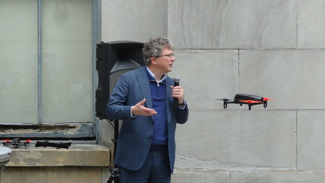 Parrot's New Bebop Drone Wants to Be Your Eyes in the Skies