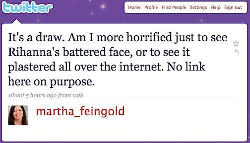 Battered Rihanna Picture A Media Ethics Lightning Rod