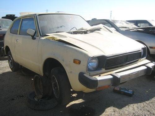 1978 Honda Civic Down On The Junkyard