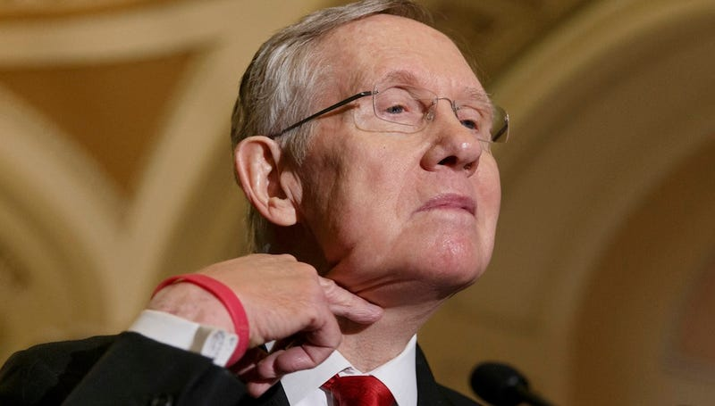 Harry Reid Won't Hesitate to Cut a Bill