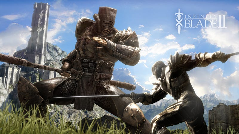 Infinity Blade 2 Will Have New Weapons, Areas, Cloud Saves and Ridiculous Graphics