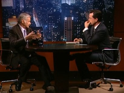 Stephen Colbert Gets Confessions From A Real Alien Hunter