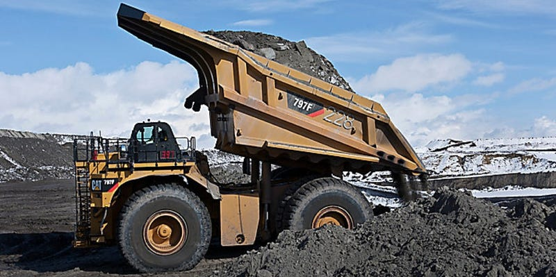 Sure, A Mining Truck Is A Better Way To Make A Pool