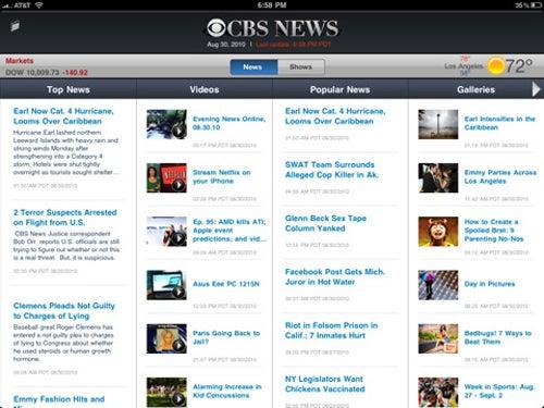 iPad Apps Sept 17