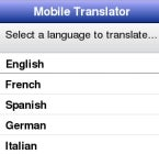Simple Translation App for Mobile Browsers