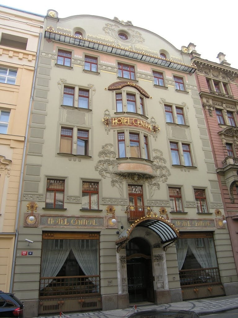 The finest examples of art nouveau architecture in central for Europe hotel prague