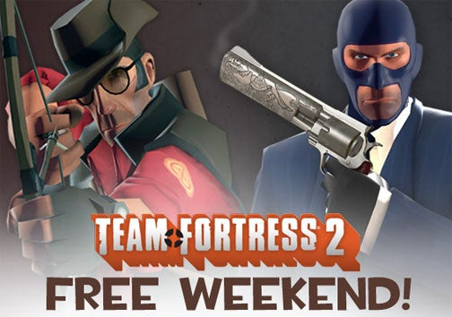 Team Fortress 2 Goes Free This Weekend