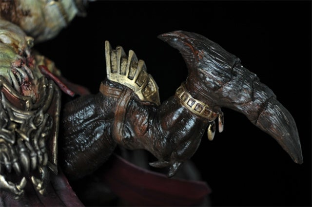 A Diablo III Statue That'll Probably Gross You Out