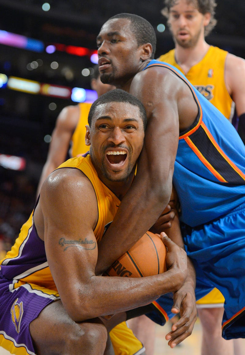 Metta World Peace Wants The Lakers To Go 73-9 This Year