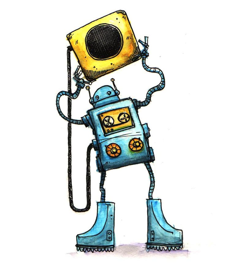 Build Your Own Robot Monster, And Support Electronic Free Speech