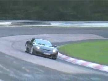 Spy Photos: Lexus LF-A at Speed