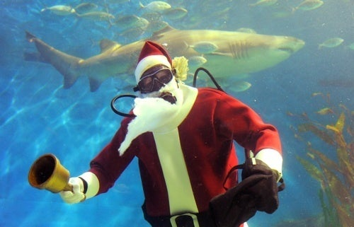 You Better Watch Out: Santa Claus Might Already Be In Your Town