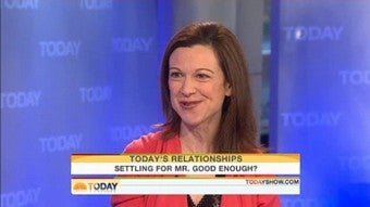 """Today: Lori Gottlieb Claims Marry Him Is About """"True Love"""""""