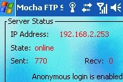 Get Full File Access to Windows Mobile Devices with Mocha FTP Server
