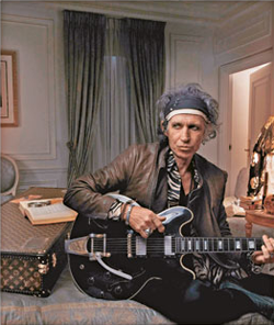 Keith Richards For Louis Vuitton: Old And Leathery