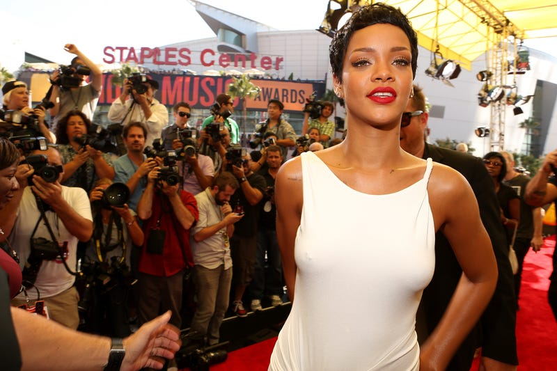 Rihanna Got a Massive Underboob Tattoo in Memory of Her Late Gran Gran [NSFW]