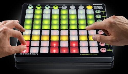 Novation Launchpad Lights Up Ableton Live DJ Sets