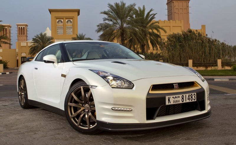 $220K gold-plated Nissan GT-R for Very Very Important (Rich) People