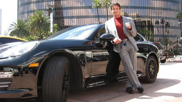 Sylvester Stallone deems his Porsche Panamera expendable