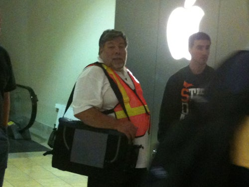 Woz Awaits the iPhone Like the Rest of Us, Only Safer