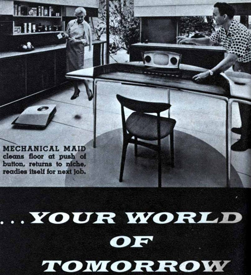 The Roomba Foretold in 1959 Magazine