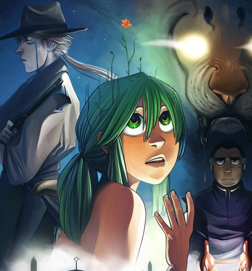 In The Meek, only a naked green-haired girl can save the world
