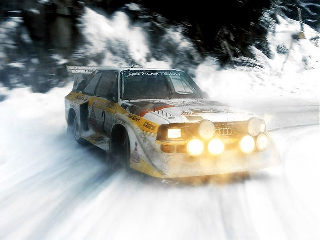 Car Spotter's Guide to Group B Rally Cars
