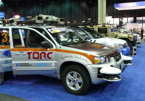 Robo-Cars Take Next Step, Standardized Communications With JAUS
