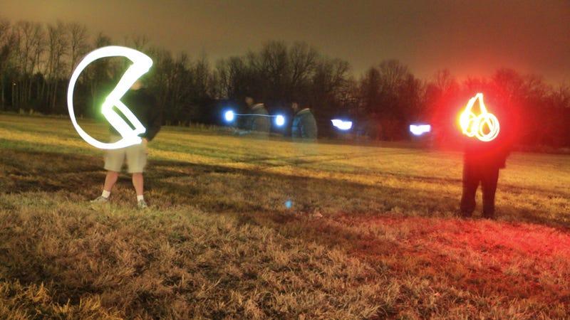 Pac-Man in Lights
