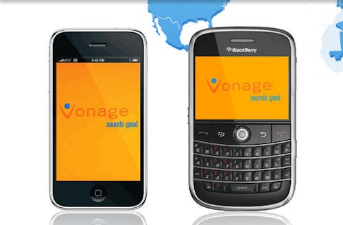 Vonage VoIP Apps Arrive for iPhone/iPod Touch and BlackBerry