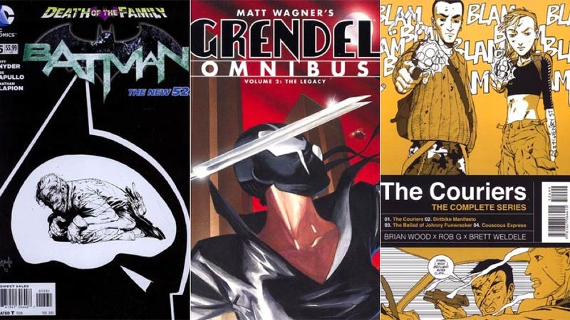 Six Comics to Make Your Blood Run Cold This Week