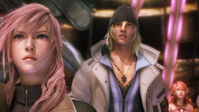 Final Fantasy XIII Is 60 GB On Steam