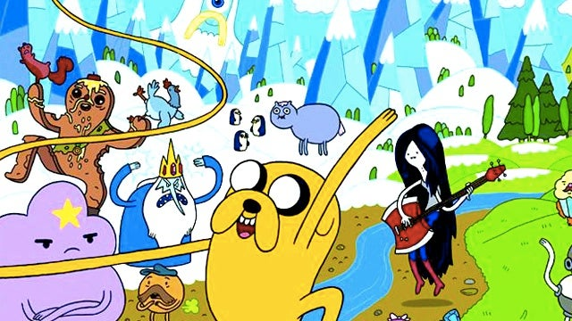 This Wednesday, Adventure Time collides with Dinosaur Comics!