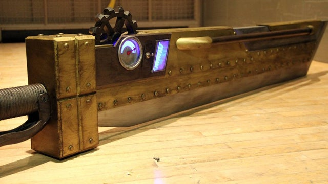 One Of Gaming's Most Iconic Swords Got A Massive Steampunk Replica