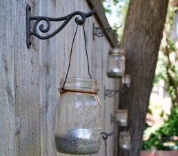 Turn Mason Jars into Garden Lanterns