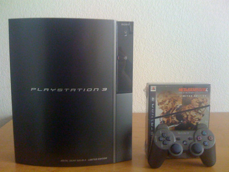 Gunmetal PS3: The Unboxing