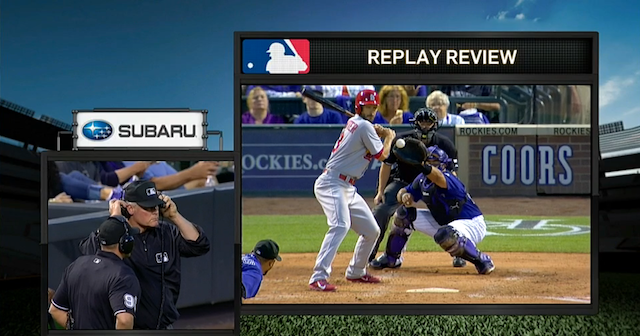 Replay Review Doesn't Prevent Umpires From Completely Blowing Call