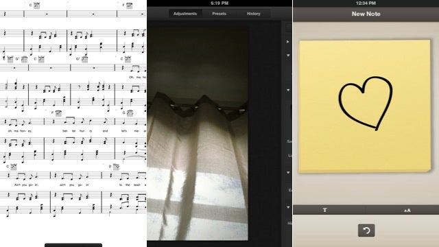 iSheetMusic, Luminance, Composition No. 1 and More