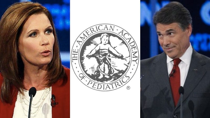 American Academy of Pediatrics: No, Michele Bachmann, the HPV vaccine cannot cause mental retardation
