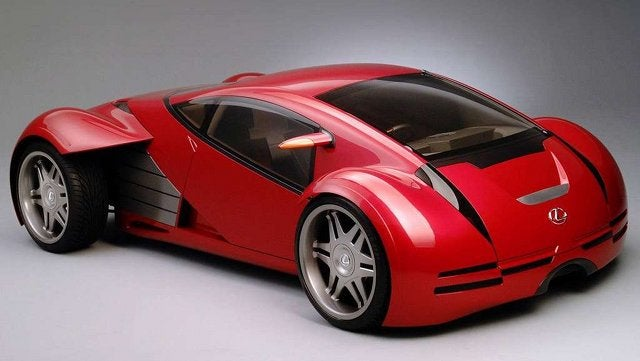 The ten coolest futuristic movie cars