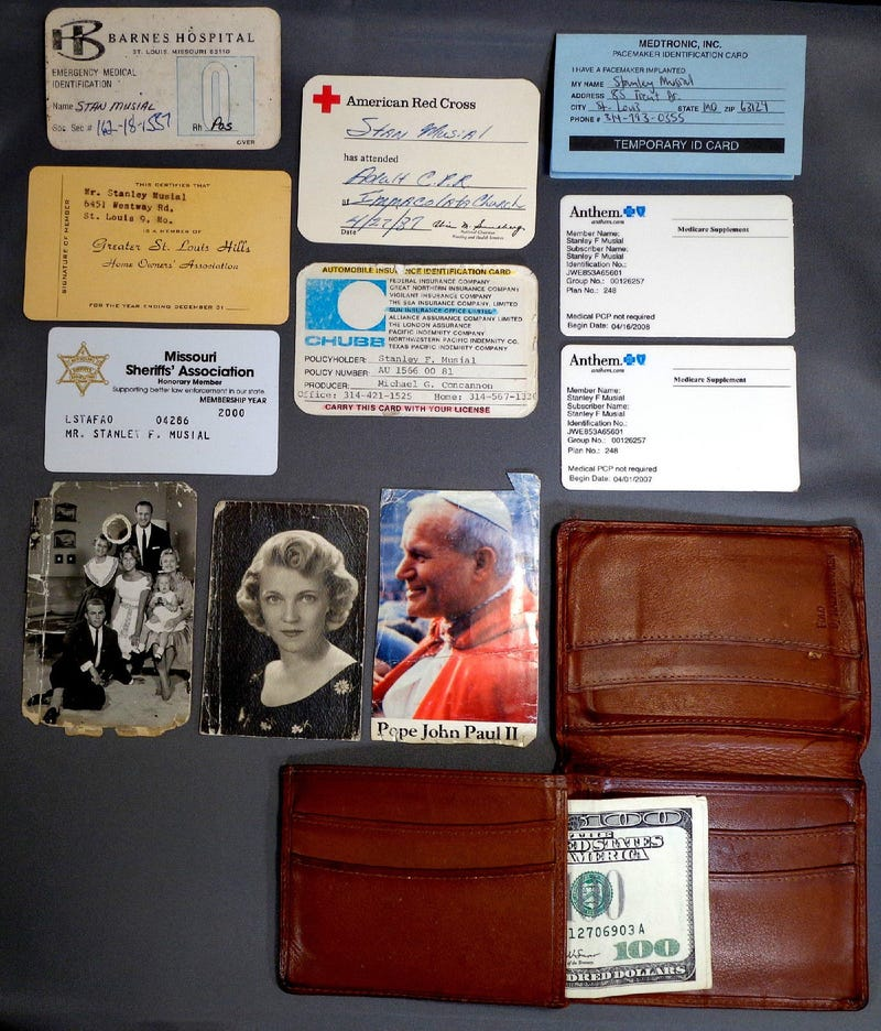 You Can Buy Stan Musial's Wallet, You Monster
